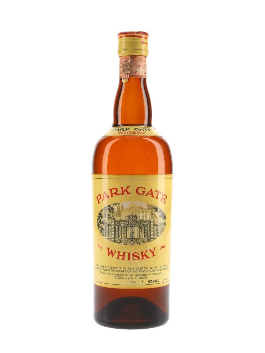 Park Gate Bottled 1960s-1970s - Stock 75cl / 40%