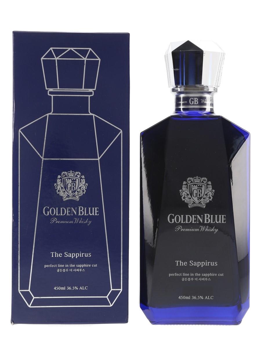 Golden Blue The Sappirus Bottled 2017 45cl / 36.5%