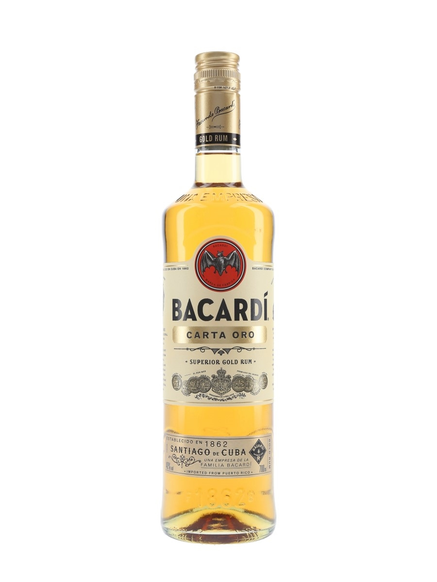 Bacardi Carta Oro Gold Rum  70cl / 40%