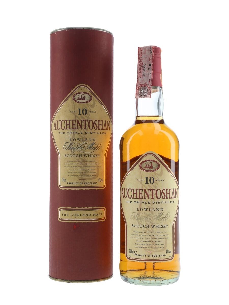Auchentoshan 10 Year Old Bottled 1990s 70cl / 40%