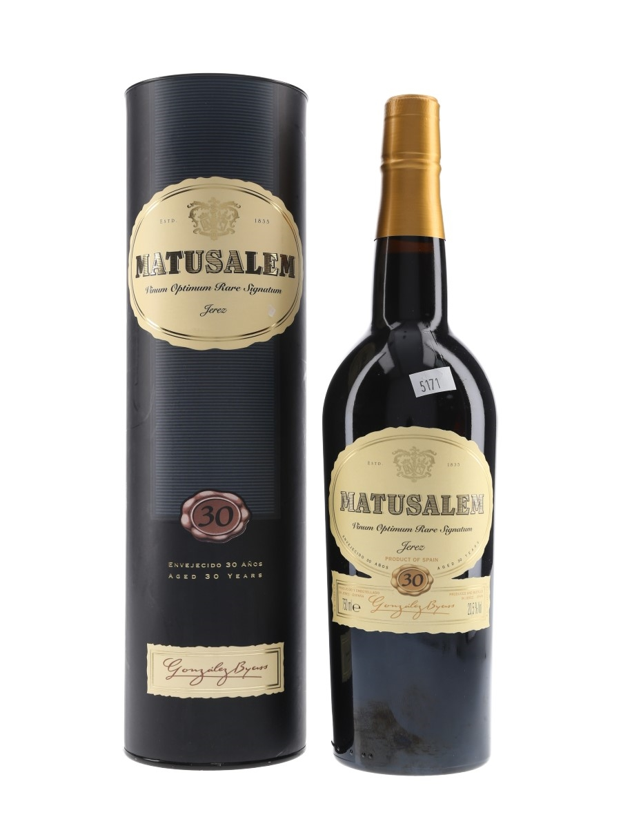 Matusalem 30 Year Old Gonzalez Byass 75cl / 20.5%