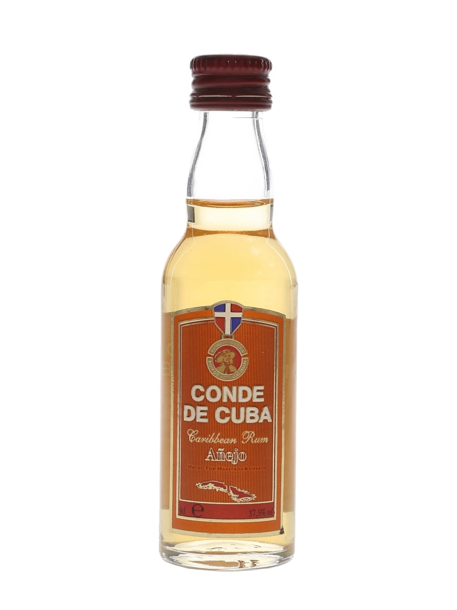 Conde De Cuba Anejo Rum Rives Pitman 4cl / 37.5%
