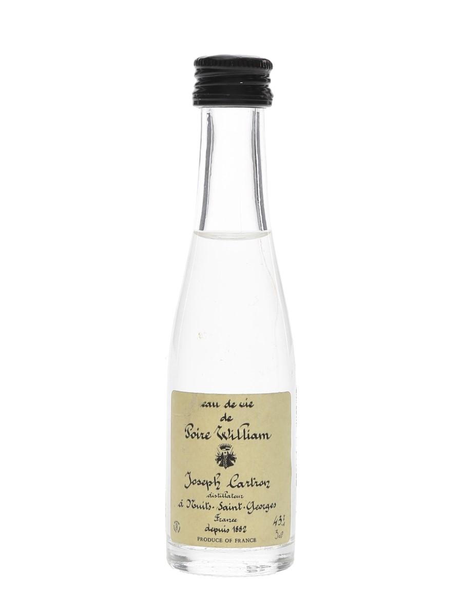 Joseph Cartron Eau De Vie De Poire William  3cl / 43%