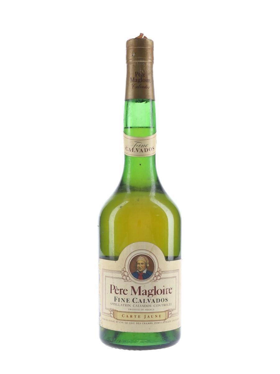 Pere Magloire Carte Jaune Fine Calvados Bottled 1990s 70cl / 40%