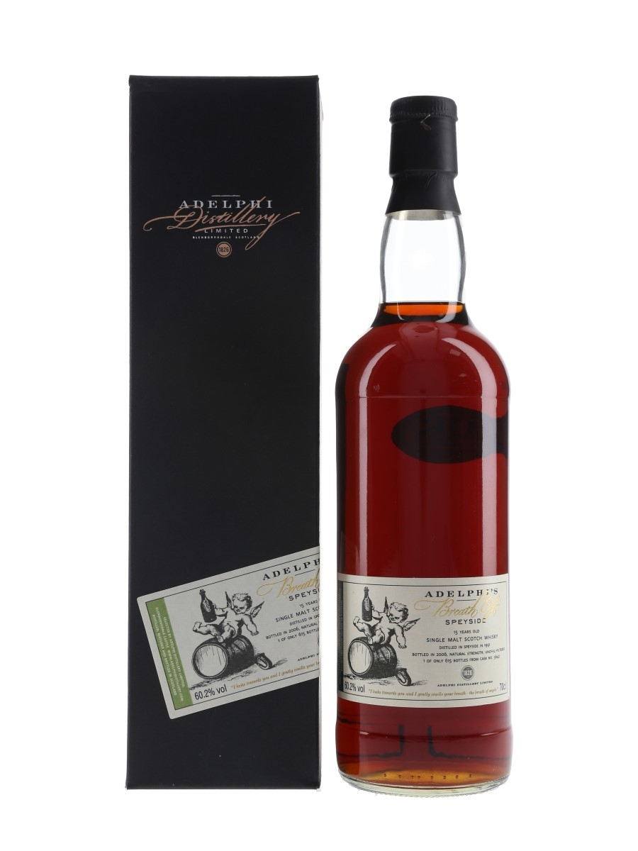 Adelphi's Breath Of Speyside 1991 15 Year Old Bottled 2006 70cl / 60.2%