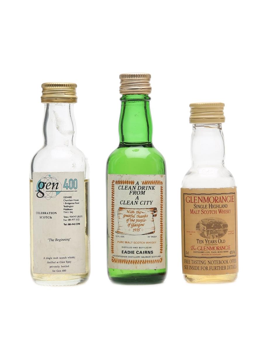 Assorted Single Malt Scotch Whisky  3 x 5cl