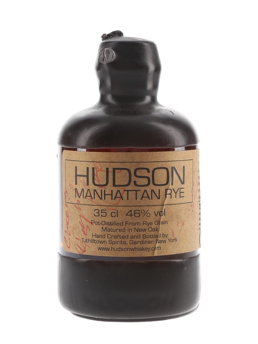 Hudson Manhattan Rye Batch 1 Tuthilltown Spirits - Bottle Number 1 - Signed Bottle 35cl / 46%