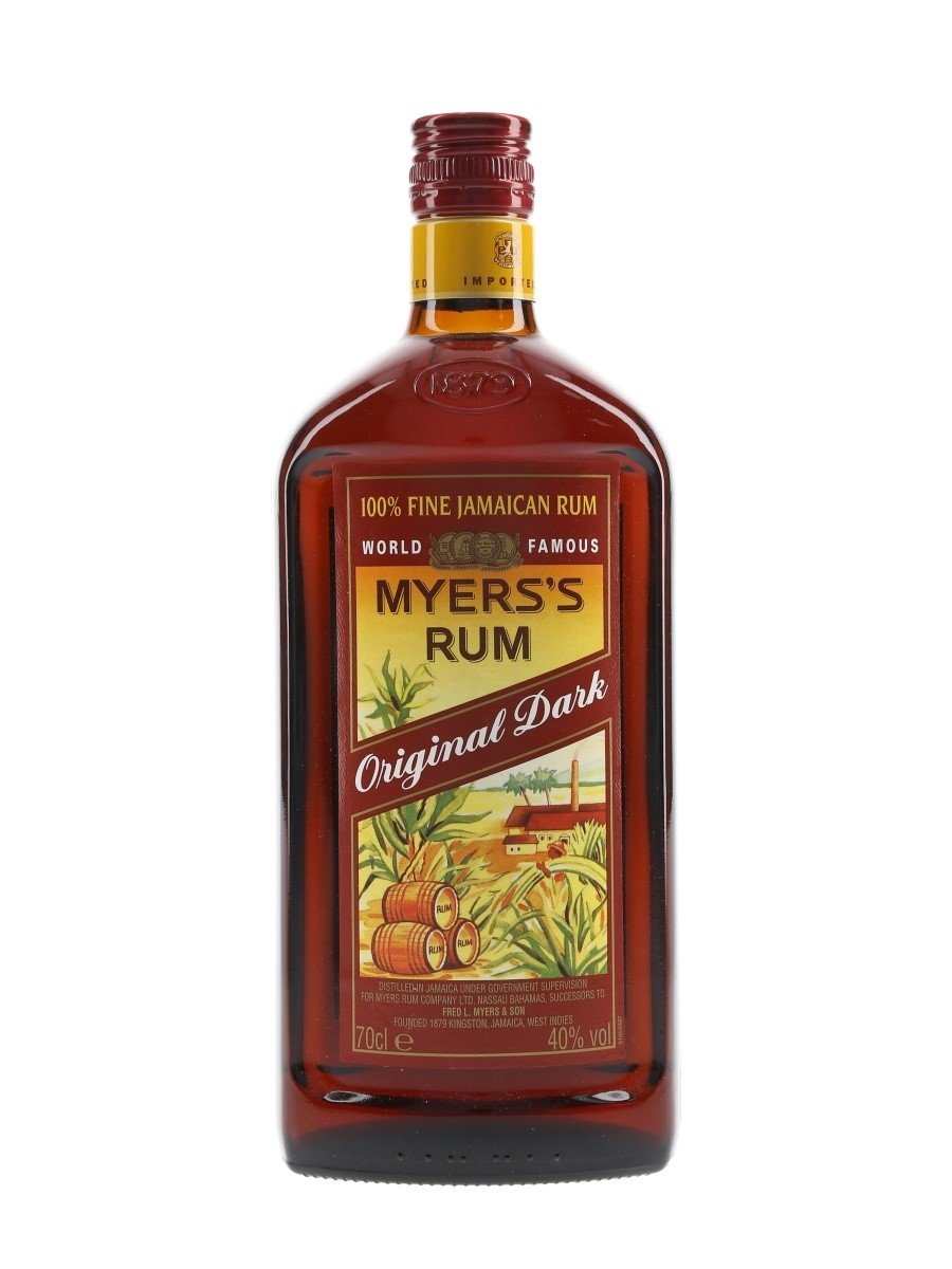Myers's Original Dark Rum  70cl / 40%