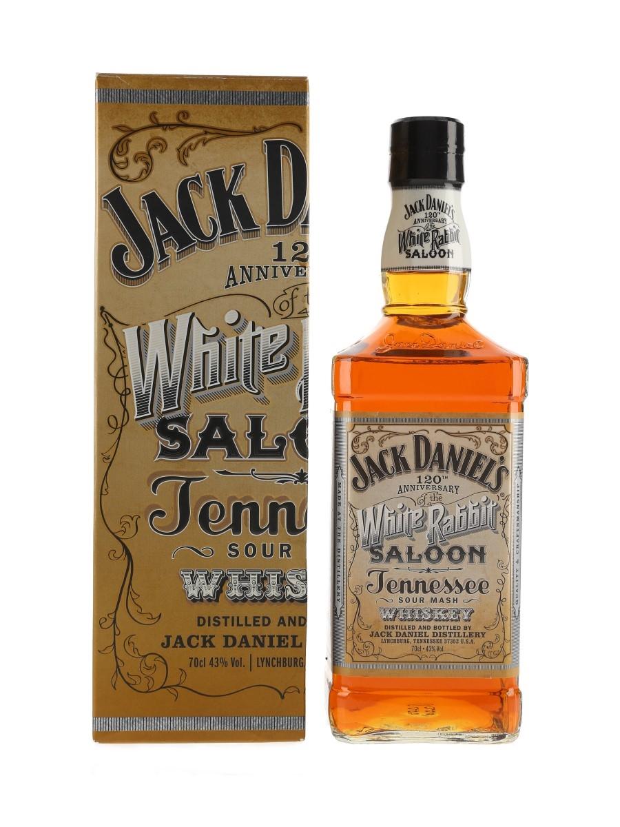Jack Daniel's White Rabbit Saloon 120th Anniversary Signed By Jeff Arnett 70cl / 43%