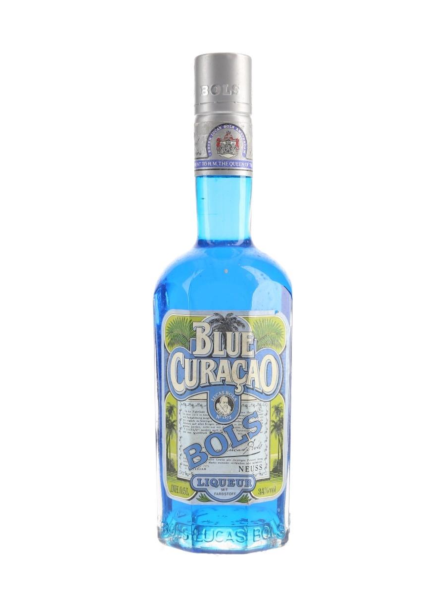 Bols Blue Curacao Bottled 1980s 50cl / 34%