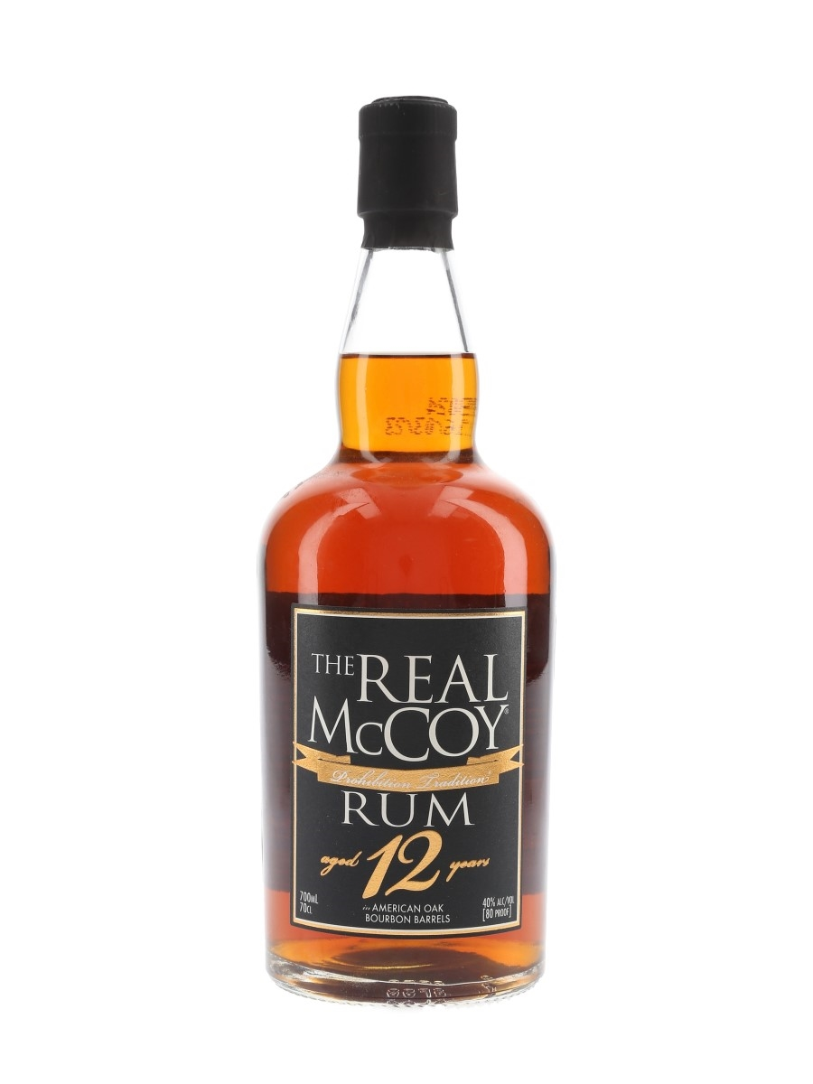 Real McCoy 12 Year Old  70cl / 40%