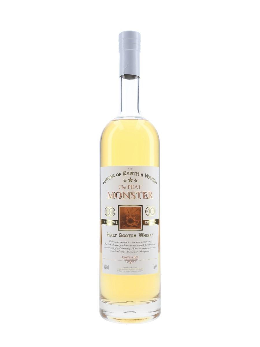 Compass Box Peat Monster Reserve Edition Bottled 2008 - Large Format - Signed Bottle 150cl / 48.9%