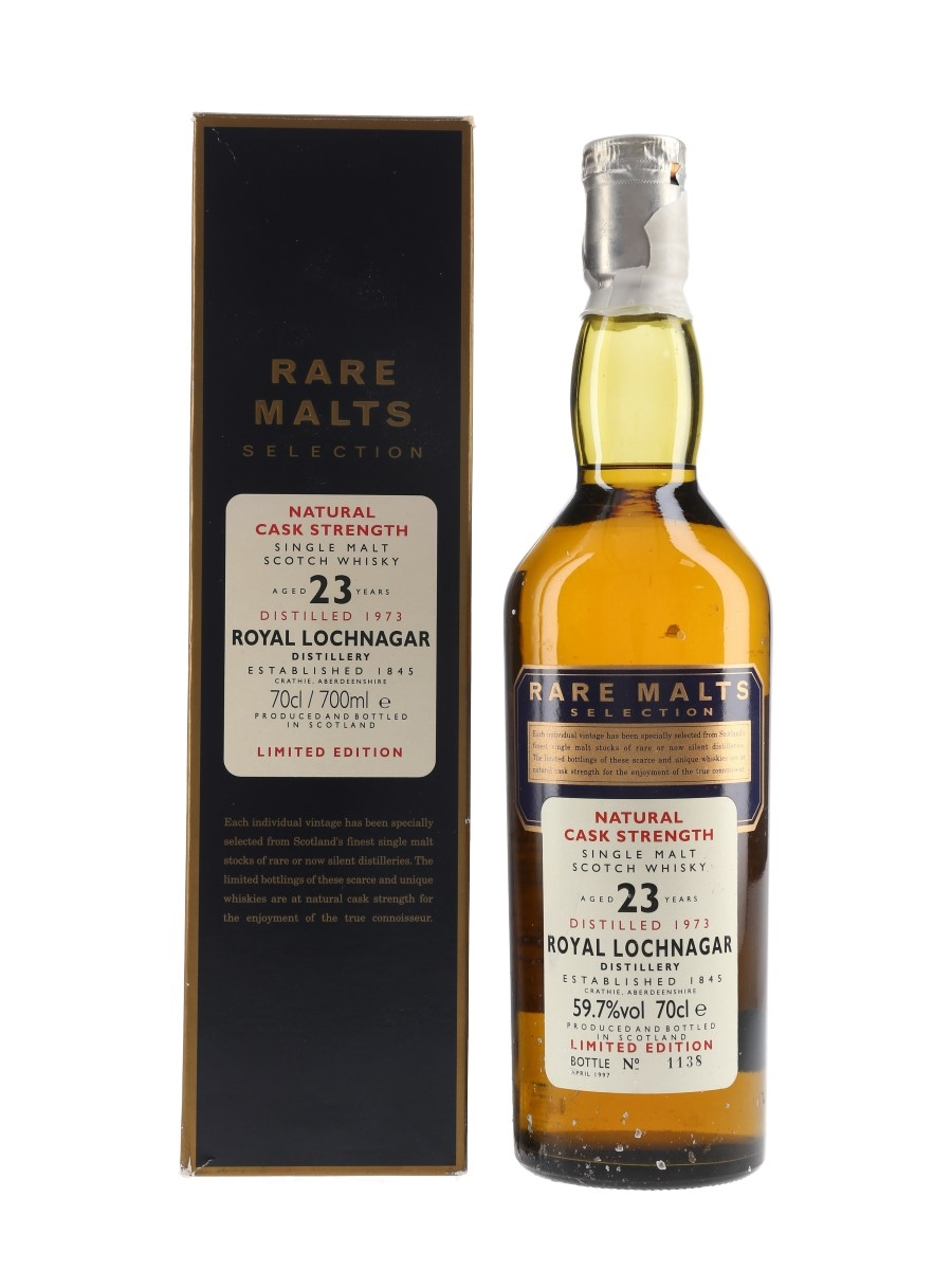 Royal Lochnagar 1973 23 Year Old Bottled 1997 - Rare Malts Selection 70cl / 59.7%