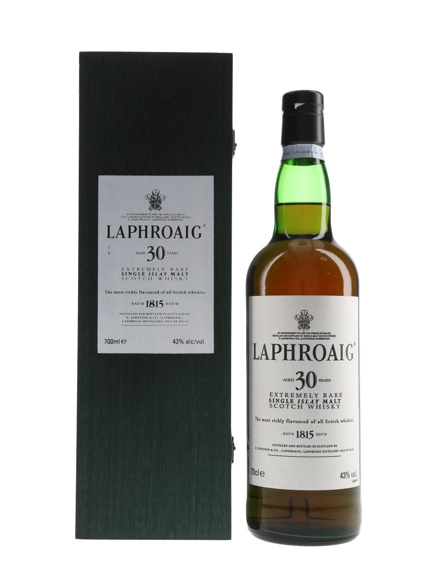 Laphroaig 30 Year Old Bottled 2000s 70cl / 43%