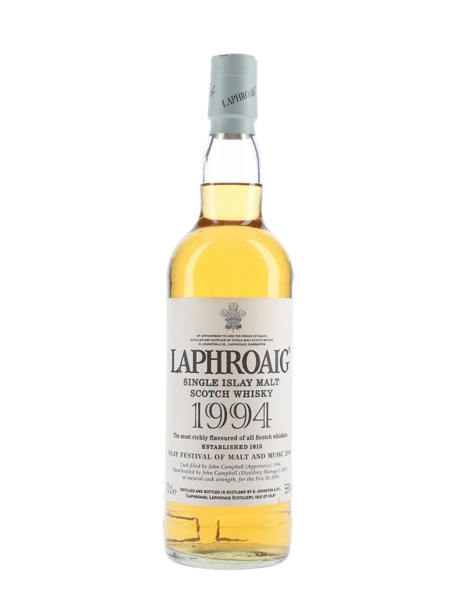 Laphroaig 1994 John Campbell Feis Ile 2006 70cl / 56%