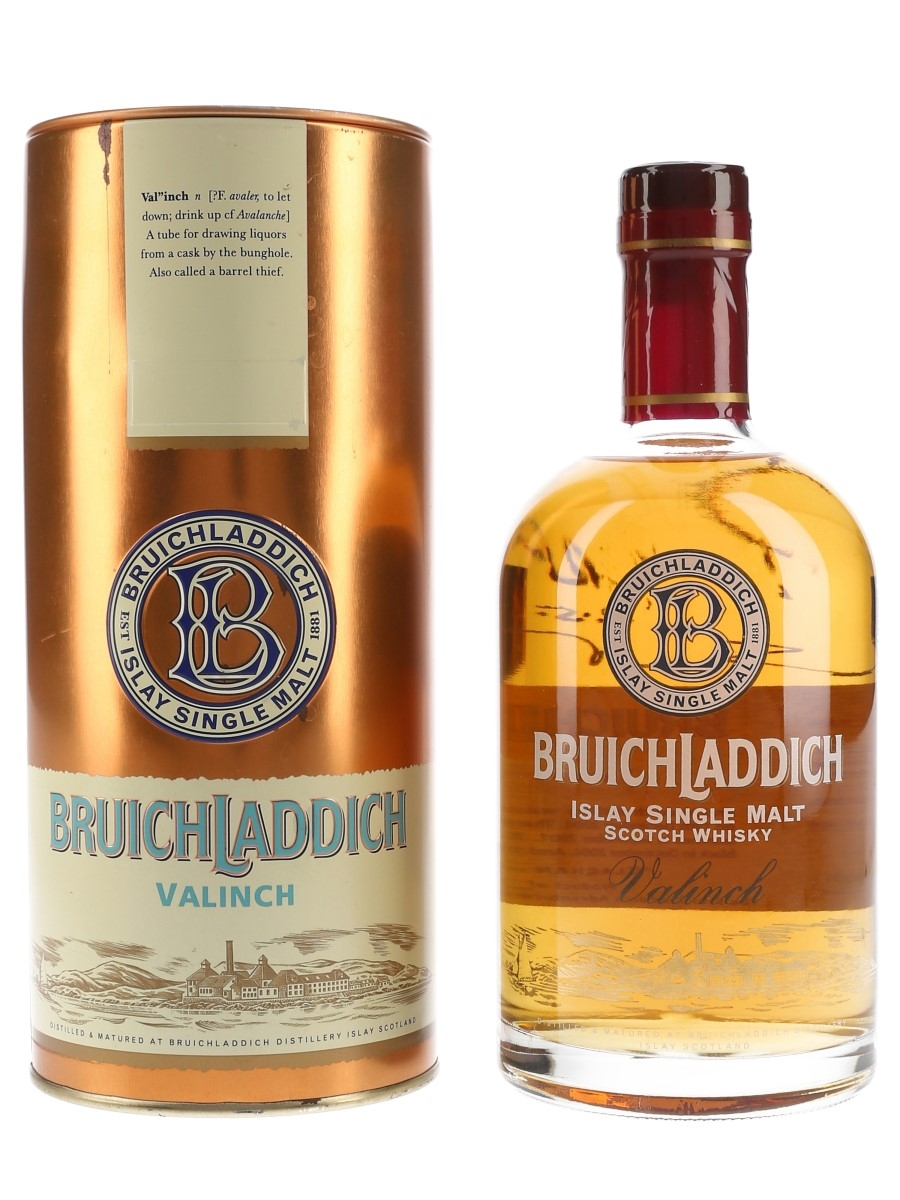 Bruichladdich 1990 Valinch From Red To Black Bottled 2005 - Signed Bottle 50cl / 56%