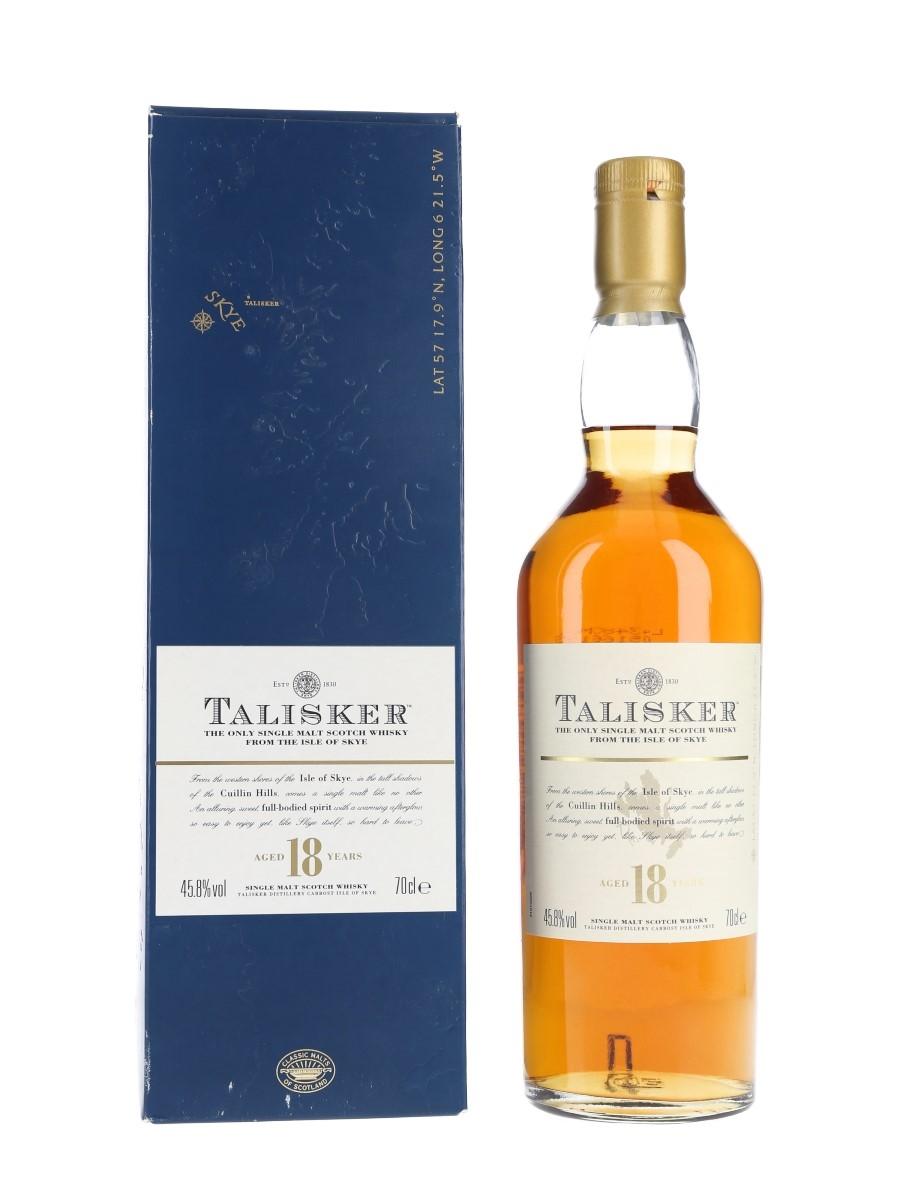 Talisker 18 Year Old Bottled 2000s 70cl / 45.8%