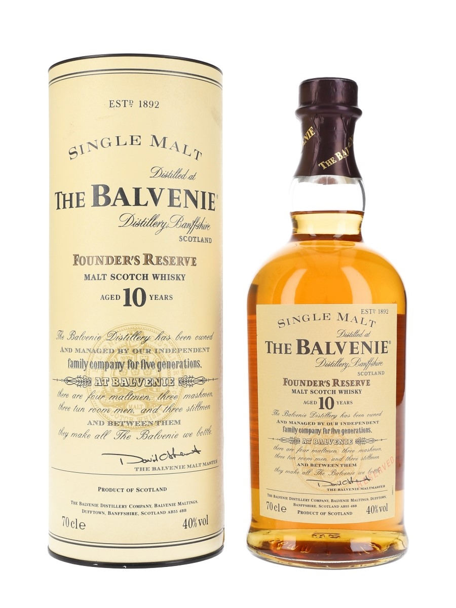 Balvenie 10 Year Old Founder's Reserve Bottled 2000s 70cl / 40%