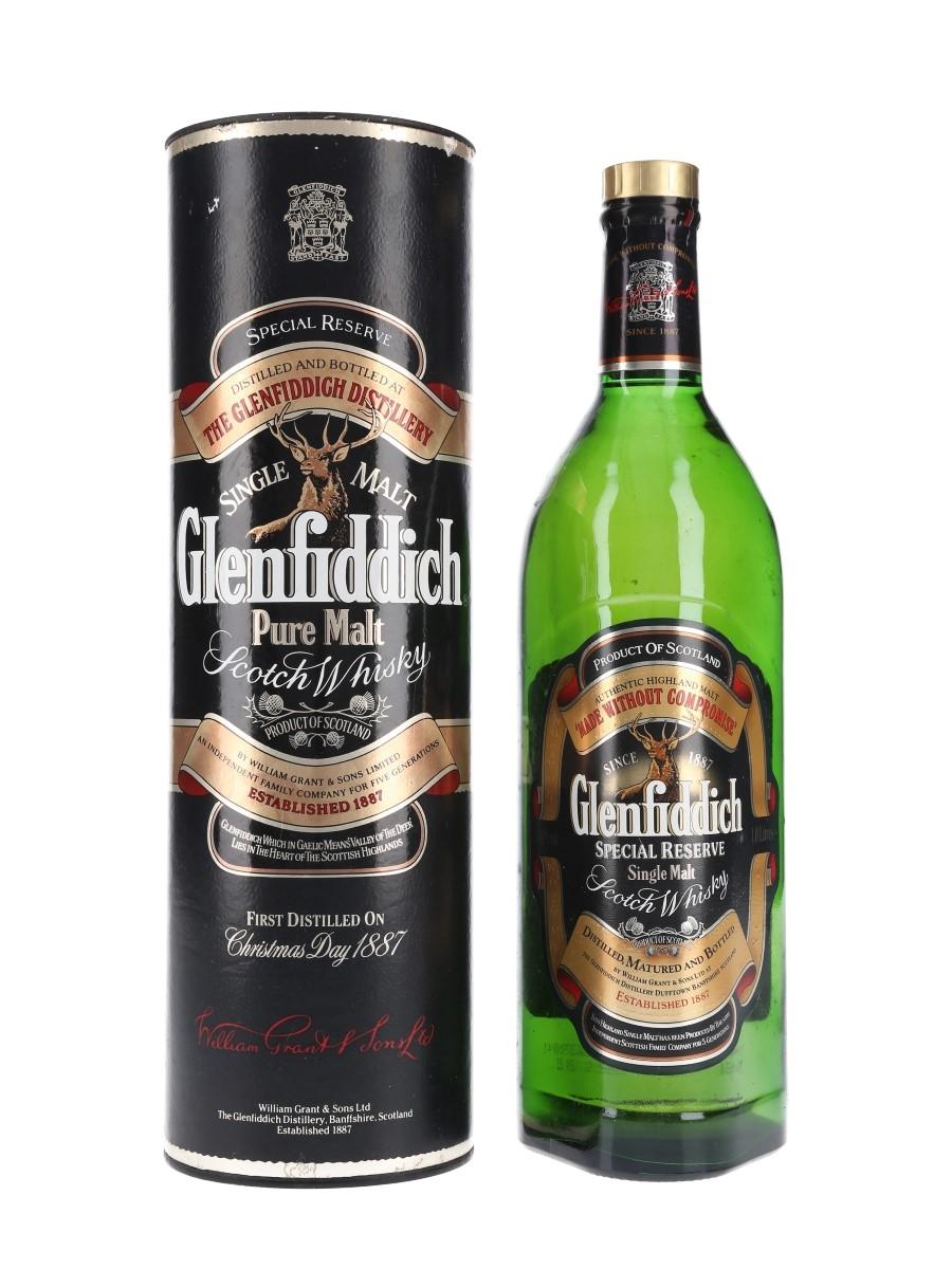 Glenfiddich Special Reserve Bottled 1990s 100cl / 40%