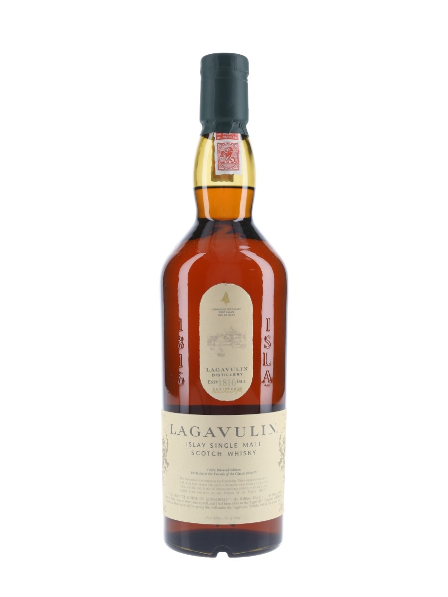 Lagavulin Triple Matured Friends Of The Classic Malts 2013 70cl / 48%
