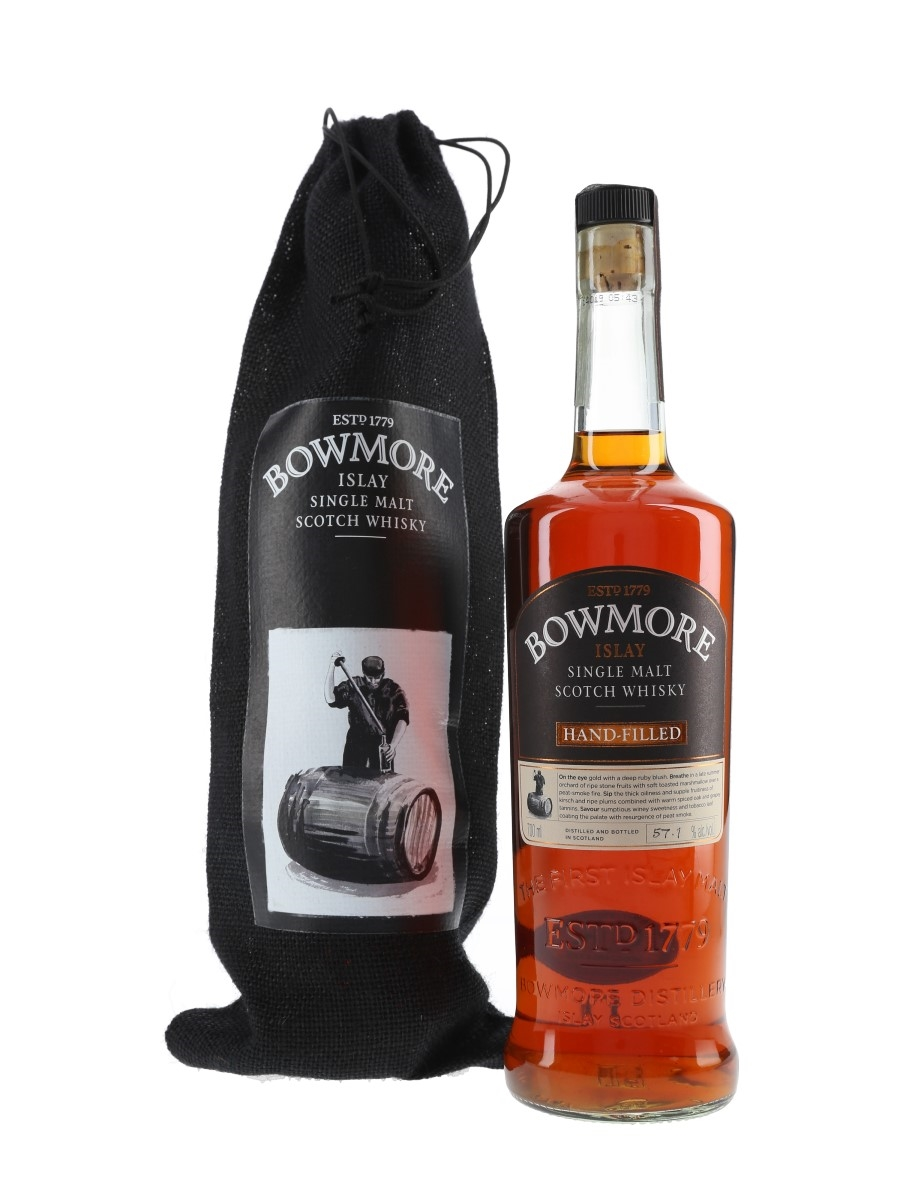 Bowmore 1998 Hand-Filled Bottled 2014 70cl / 57.1%