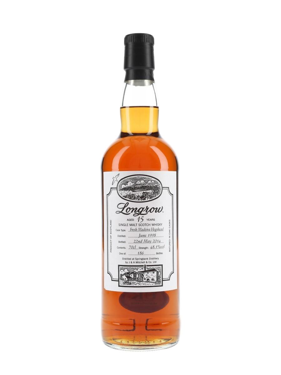 Longrow 1998 15 Year Old Fresh Madeira Hogshead Bottled 2014 70cl / 48.1%