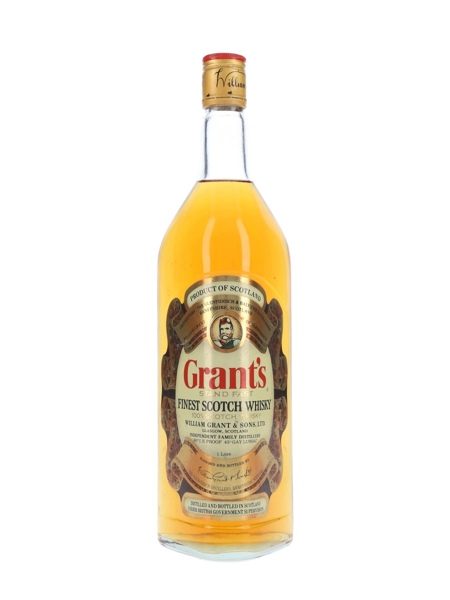 Grant's Standfast Bottled 1980s 100cl / 43%