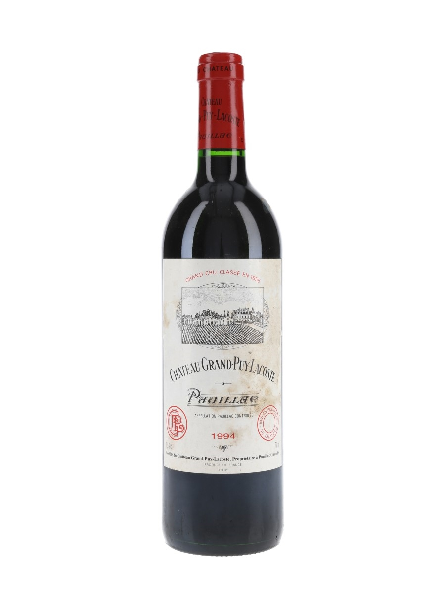 Chateau Grand Puy Lacoste 1994 Pauillac 75cl / 12.5%