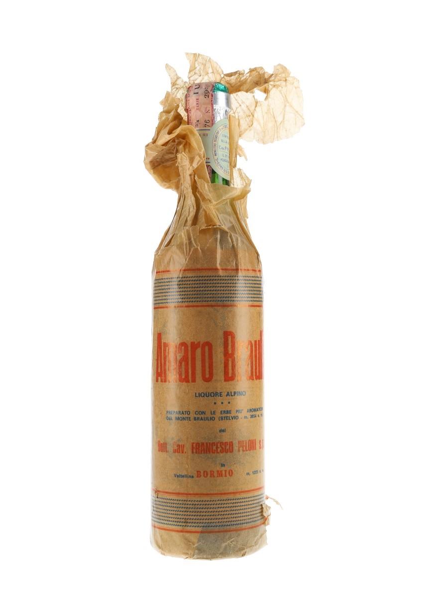 Braulio Amaro Bottled 1960s-1970s 75cl