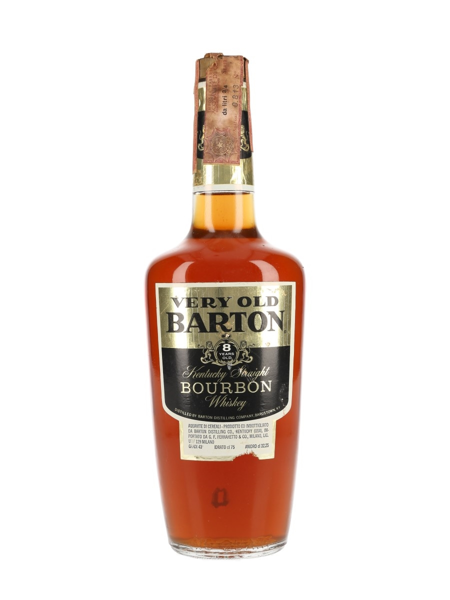 Barton 8 Year Old Bottled 1970s - Ferraretto 75cl / 43%