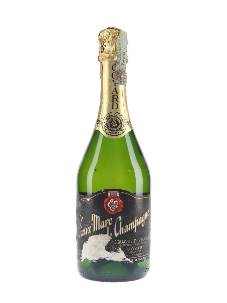 Goyard Vieux Marc De Champagne Bottled 1990s 70cl / 40%