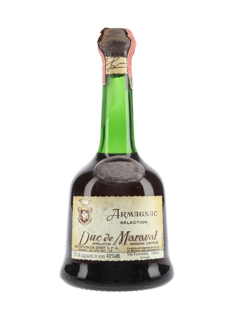 Duc De Maravat Selection Bottled 1980s - Spirit 70cl / 40%