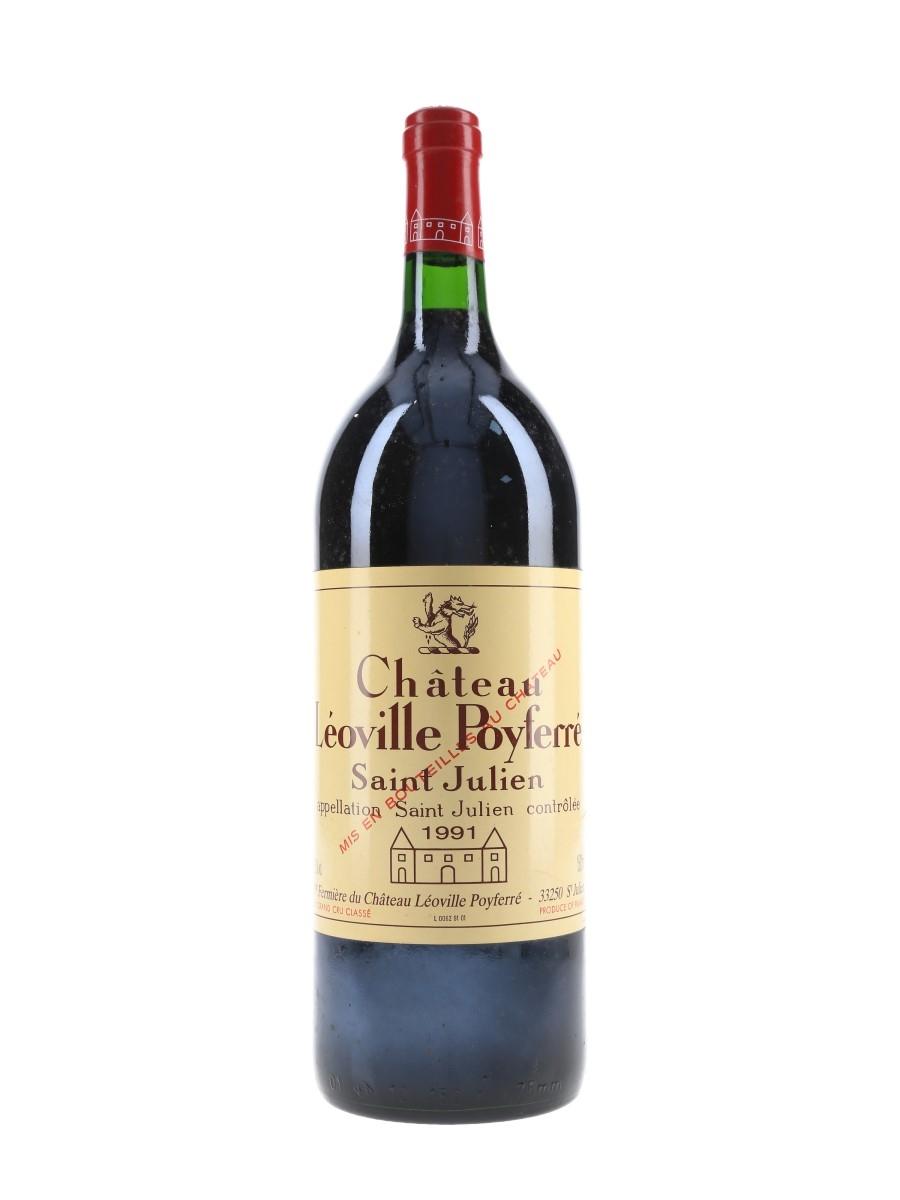 Chateau Leoville Poyferre 1991 Saint-Julien - Large Format 150cl / 12.5%