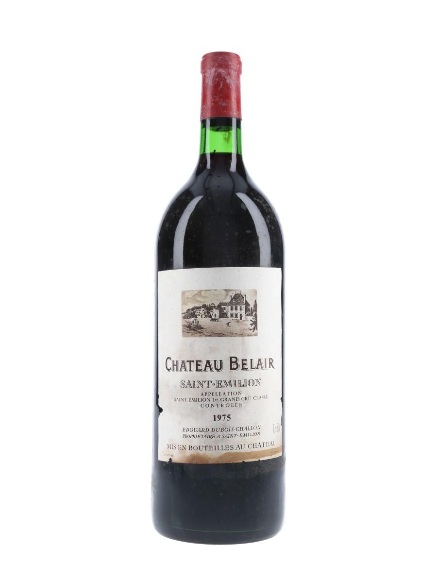 Chateau Belair 1975 1er Grand Cru Classe - Saint Emilion - Large Format 148cl
