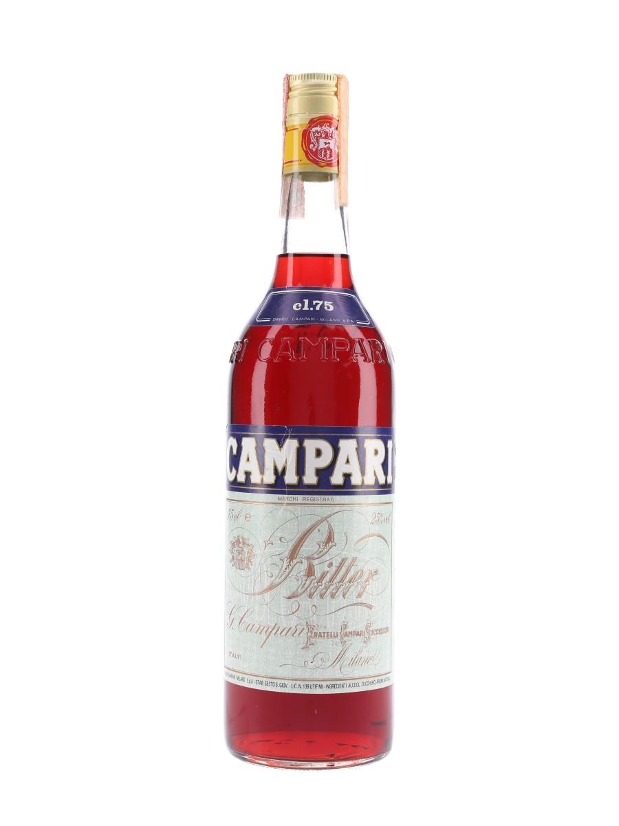 Campari Bitter Bottled 1980s 75cl / 25%