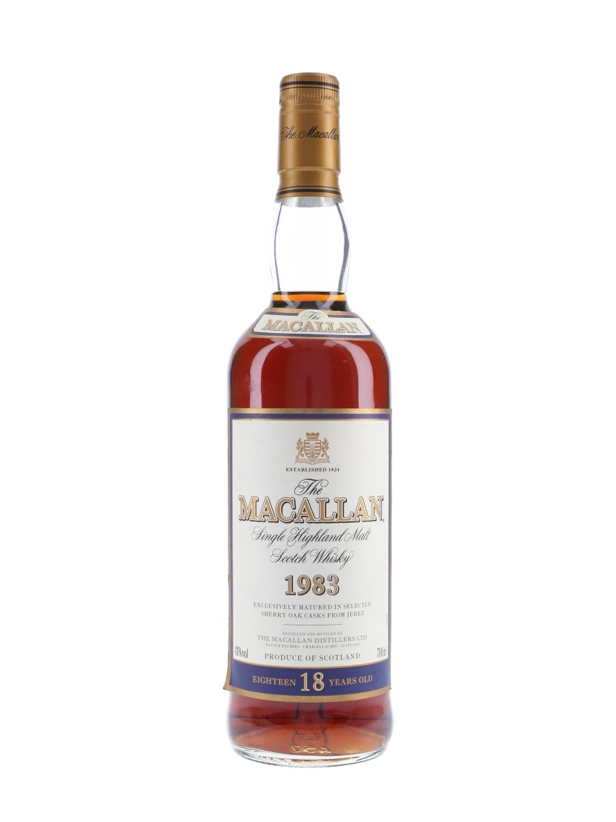Macallan 1983 18 Year Old  70cl / 43%