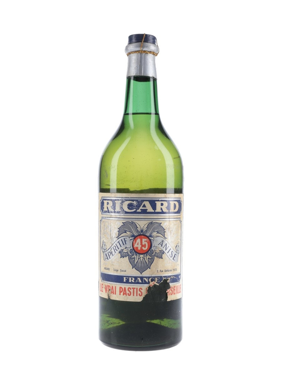 Ricard Pastis Bottled 1950s-1960s 100cl