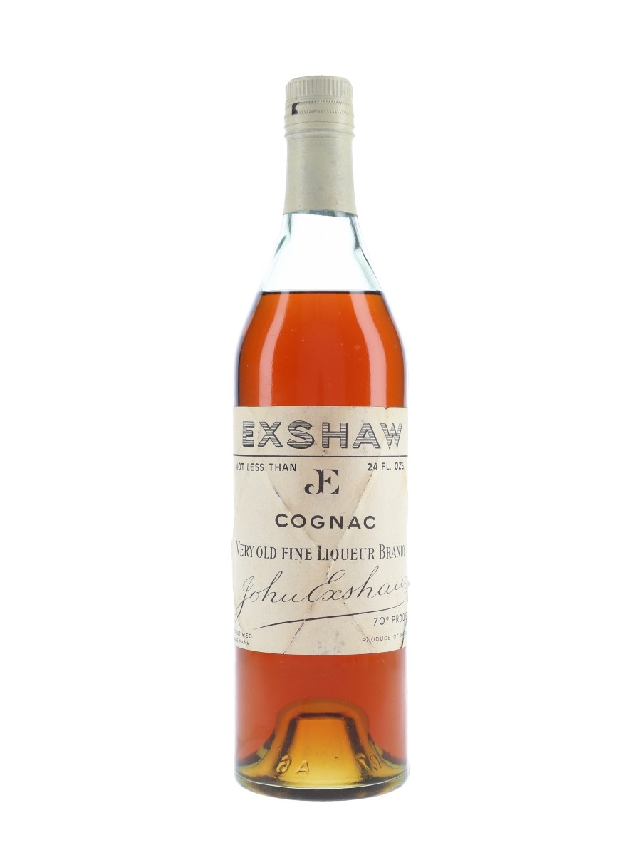 John Exshaw Very Old Bottled 1960s 68cl / 40%