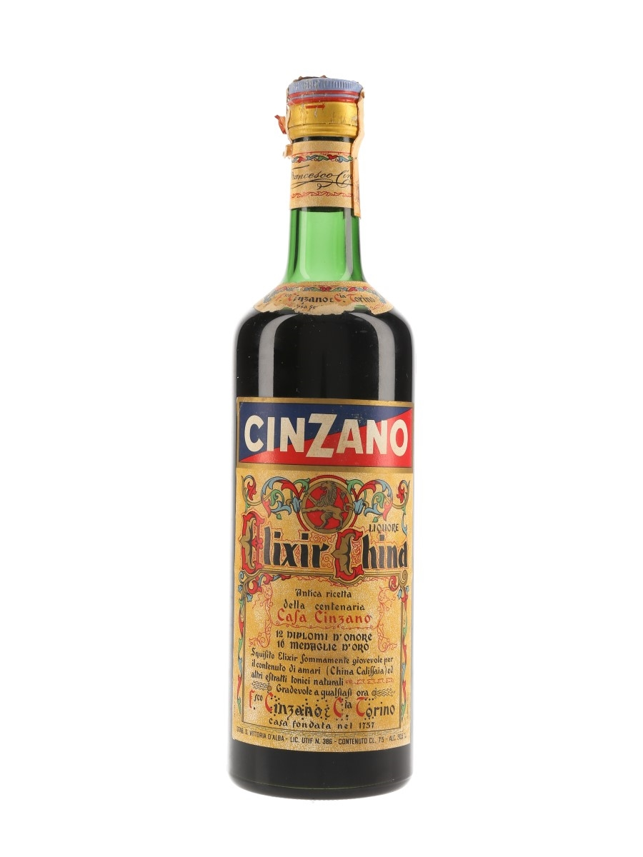 Cinzano Elixir China Bottled 1970s 75cl / 30.5%