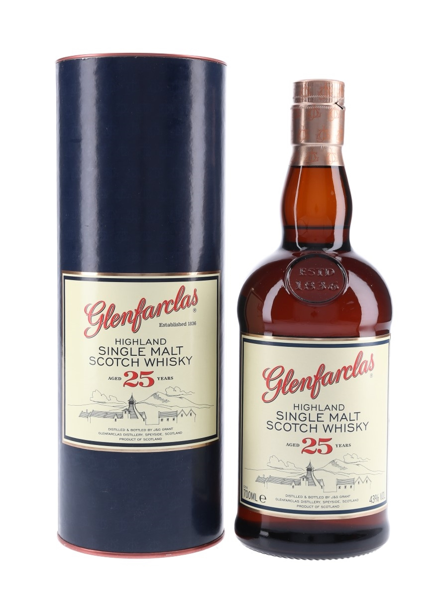 Glenfarclas 25 Year Old  70cl / 43%