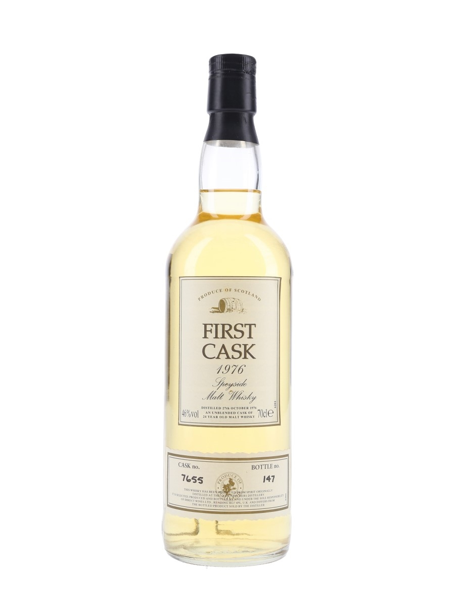 Glentauchers 1976 24 Year Old Bottled 2001 - First Cask 70cl / 46%