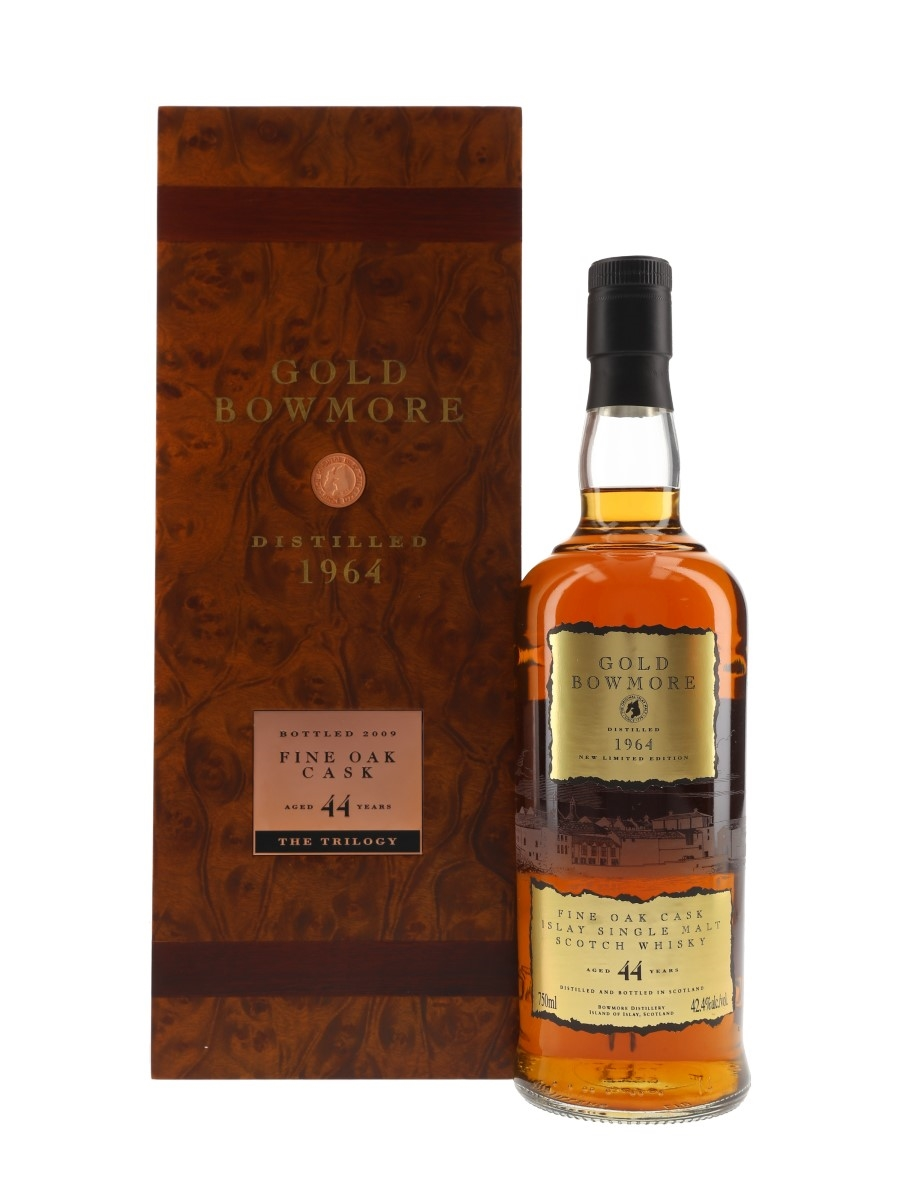Bowmore 1964 Gold Bowmore 44 Year Old Bottled 2009 - The Trilogy 75cl / 42.4%