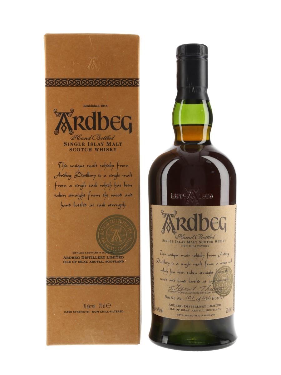 Ardbeg 1976 Sherry Butt 2394 Bottled 2000 - Ardbeg Committee 70cl / 53.2%