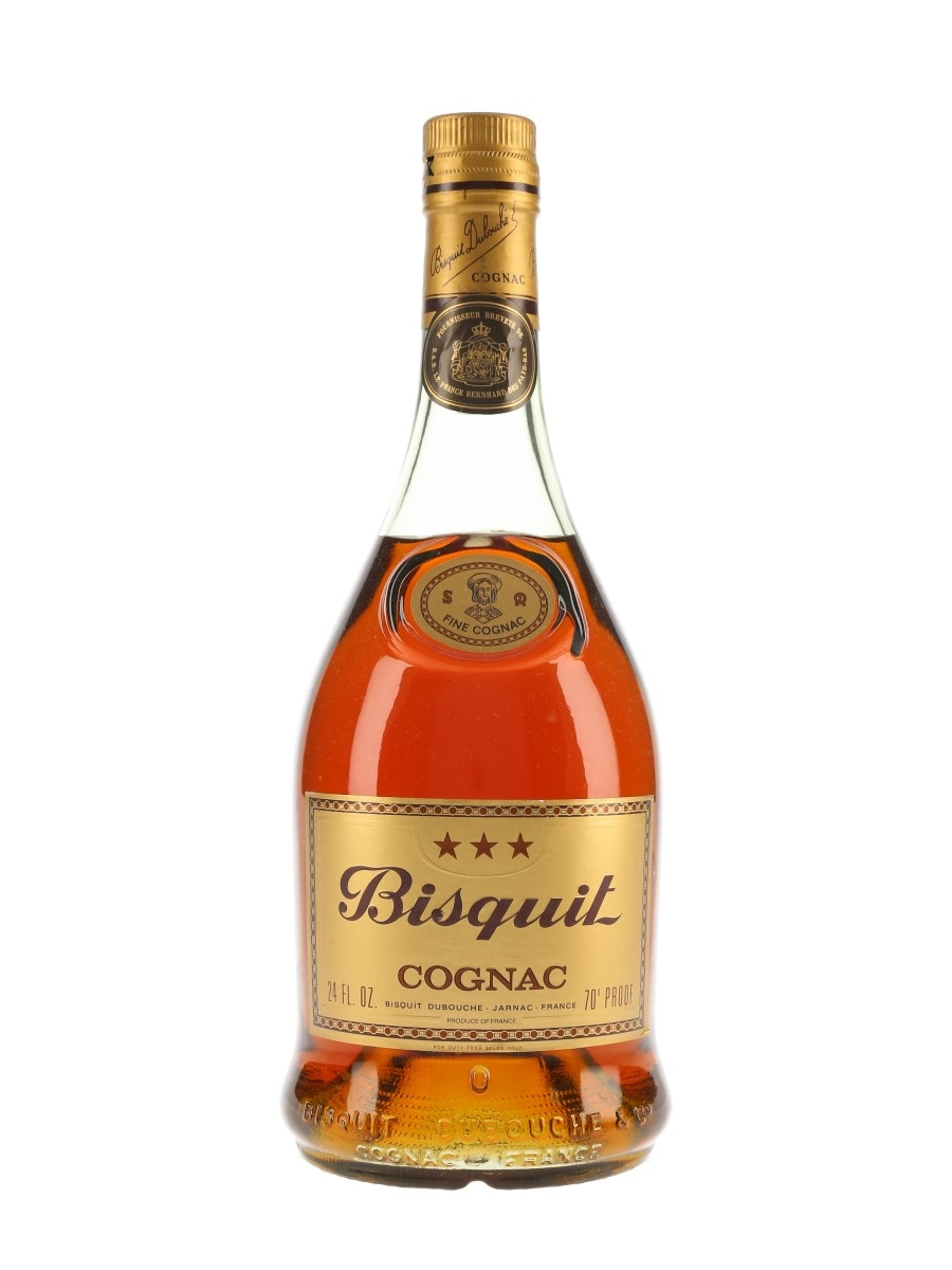 Bisquit 3 Star Bottled 1970s 68cl / 40%