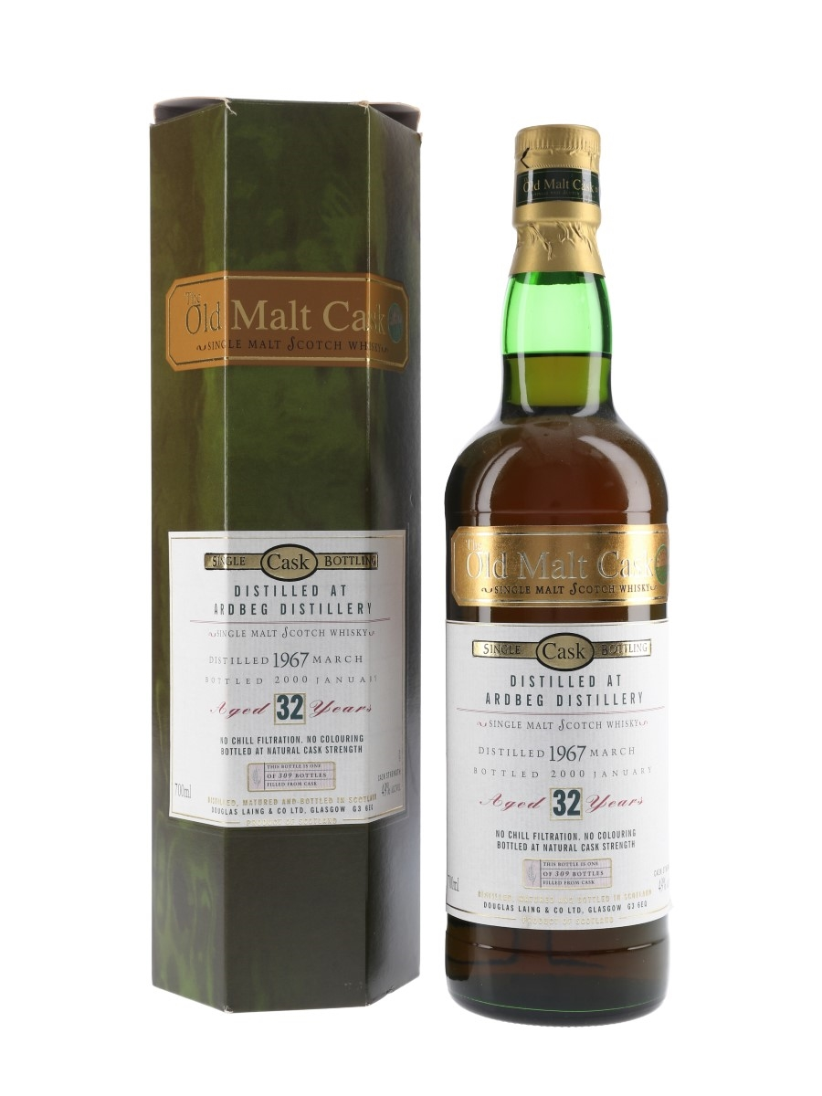 Ardbeg 1967 32 Year Old The Old Malt Cask Bottled 2000 - Douglas Laing 70cl / 49%