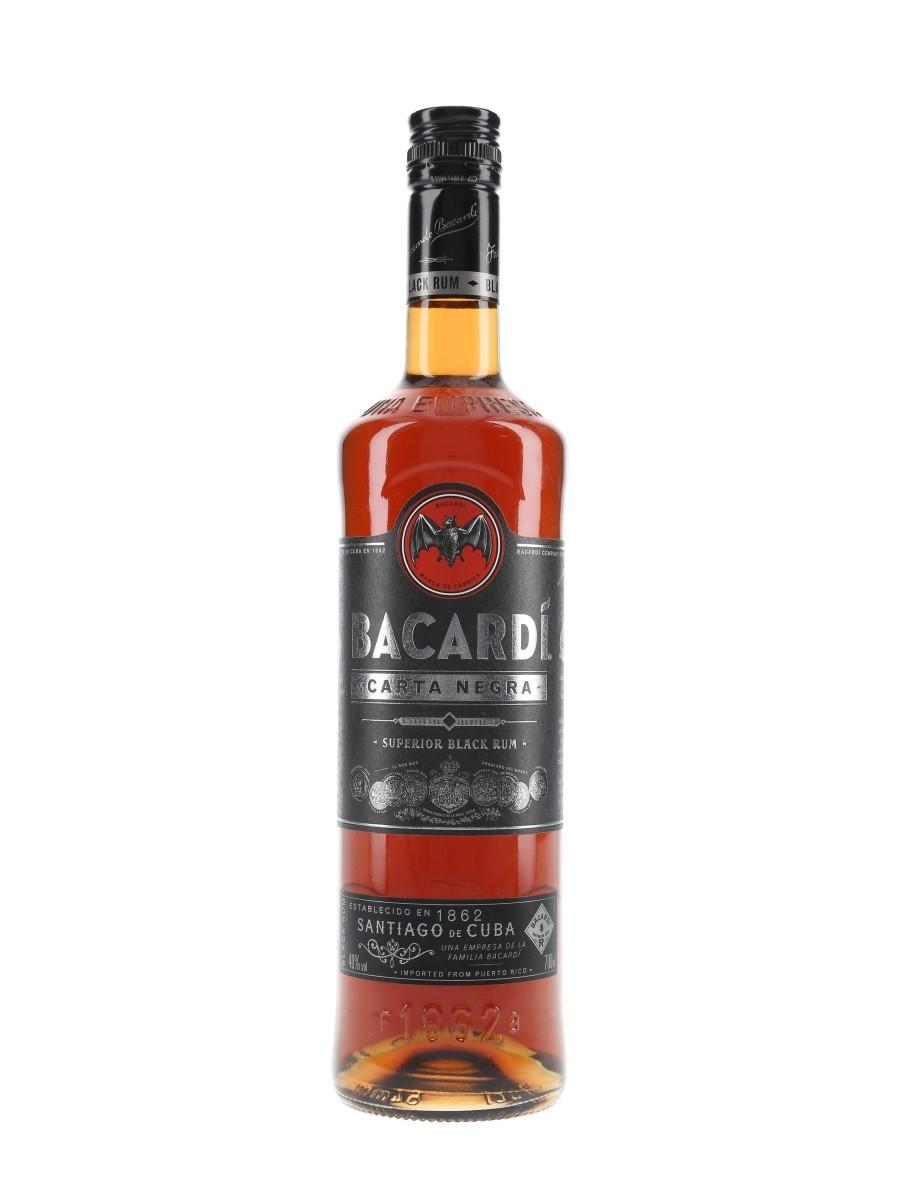 Bacardi Carta Negra  70cl / 40%