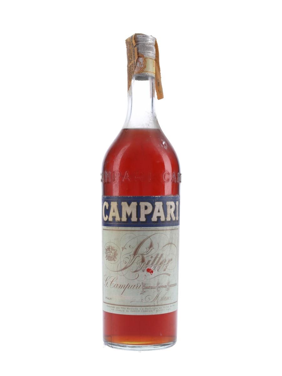Campari Bitter Bottled 1960s-1970s - Spain 100cl / 25%