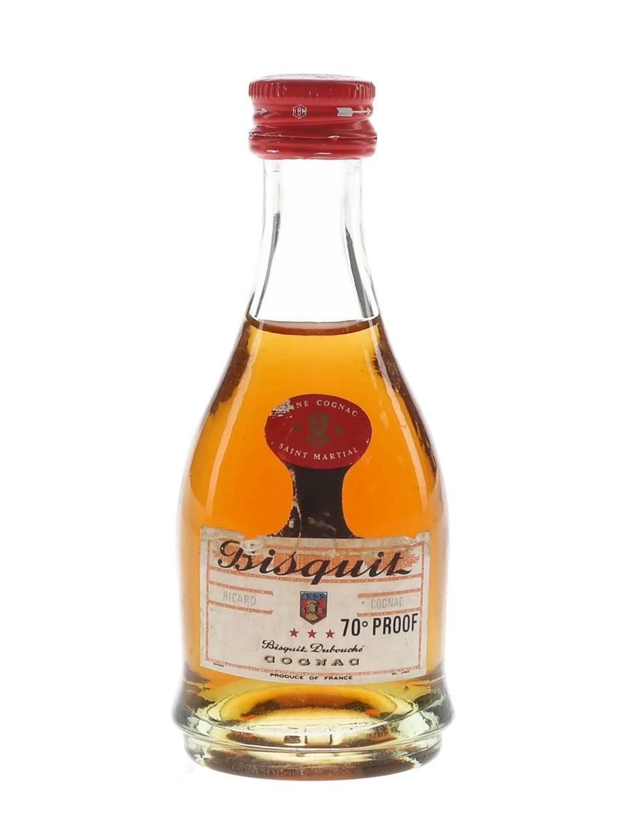 Bisquit 3 Star Bottle 1970s 3cl / 40%