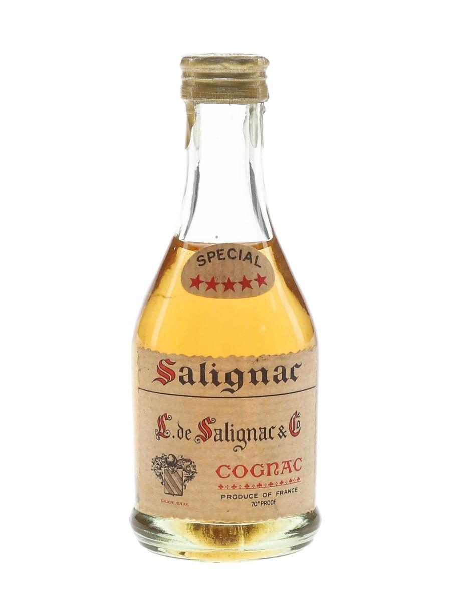 Salignac 5 Star Special Bottled 1970s 3cl / 40%