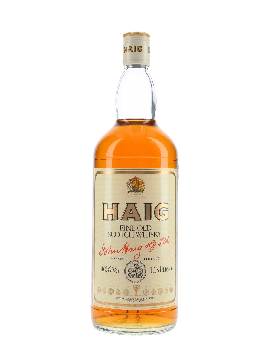 Haig's Fine Old Bottled 1980s 113cl / 40%